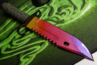 M9 Bayonet CS:GO Fade Knife