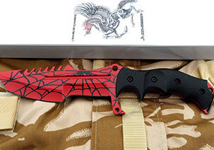 CS:GO Huntsman Knife Crimson Web